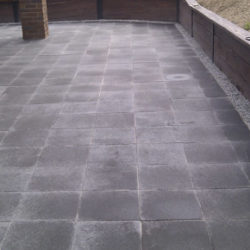 Landscape paving in Bendigo