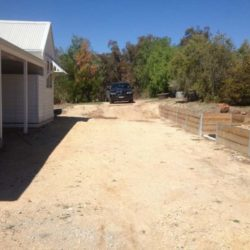 Residential Driveway Before Photo
